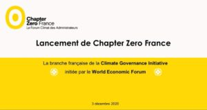 Replay du webinaire de lancement de Chapter Zero France disponible